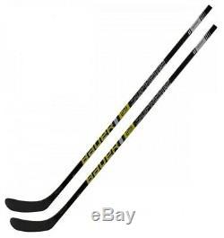 2 Pack BAUER Supreme 2S Team Season 2019 Ice Hockey Sticks Senior Flex Brand N