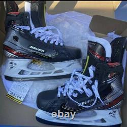2020 Bauer Vapor 2X Pro Ice Hockey Skates Senior Size 9.5 EE New Sharpened Adult