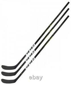 3 Pack CCM RibCor Trigger 3D PMT Ice Hockey Sticks Senior Flex
