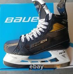 BAUER SUPREME 3S PRO ICE HOCKEy SKATES SIZE 8 FIT 1