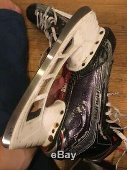 Bauer 1X Ice Hockey Skates Size 7 7/8 (8D) Pro Stock New Steel Senior