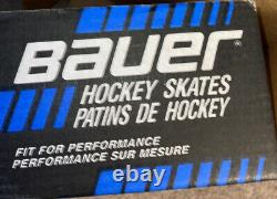 Bauer 76 Senior Canstar Comfort Fit Professional Ice Hockey Skates D New