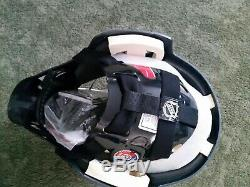 Bauer Senior NME3 Ice Hockey GOALIE Helmet Mask STAR WARS DARTH VADER HEAD SR