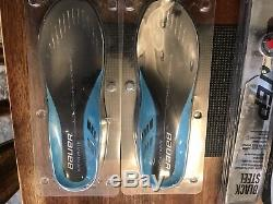 Bauer Supreme 2S Senior Ice Hockey Skates 7D withNew Speed Plates