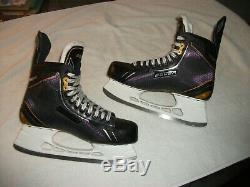 Bauer Supreme One. 8 Ice Hockey Skates Senior Size 12 D Skate, 13.5 Shoe, Near New