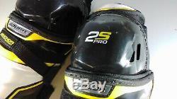 Bauer Supreme S14 2S PRO Senior Ice Hockey Shin Guards Schienbeinschutz