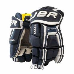 Bauer Supreme S17 S170 Senior Ice Hockey Gloves Eishockey Handschuh