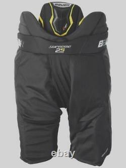 Bauer Supreme S19 2S PRO Senior BLACK Ice Hockey Pants