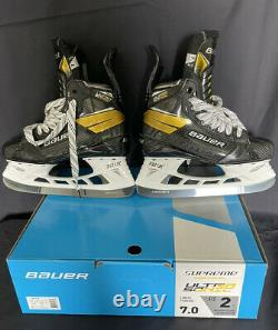 Bauer Supreme UltraSonic Senior Ice Hockey Skates 7 Fit 2
