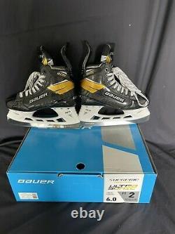 Bauer Supreme UltraSonic Senior Ice Hockey Skates Skate Size 6 Fit 2