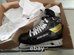 Bauer Supreme Ultrasonic Ice Hockey Goalie Skates Senior Size 8d