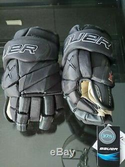 Bauer Vapor 1X Lite Pro Ice Hockey Gloves Black 14 senior