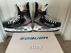 Bauer Vapor 2X Pro Senior Ice Hockey Skates Skate Size 9.5 D CUSTOM Tongue