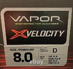 Bauer Vapor X Velocity Senior Adult Ice Hockey Skates Size 8D NEW! With Box