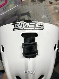 Bauer nme 5 senior ice hockey goalie helmet With Extra Repair Pieces New In Bag