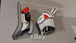 Brand New Adult Senior Sr Matching Itech Ice Hockey Goalie Glove & Blocker