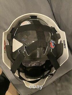 CCM 1.5 senior goalie mask black ice hockey goal helmet Small/Medium/Large