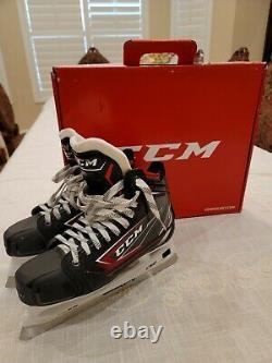 CCM Jetspeed FT480 Senior Ice Goalie Skates Senior Size 7D