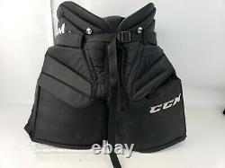 CCM Premier R1.9 LE Senior Ice Hockey Goalie Pants Medium Black SR M BLK Grey