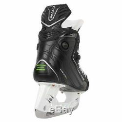 CCM RibCor 46K Pump Senior 10.0 EE Wide Ice Hockey Skates Black