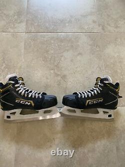 CCM Super Tacks Model 9380 Ice Hockey Goalie Skates New Senior Size 8.5