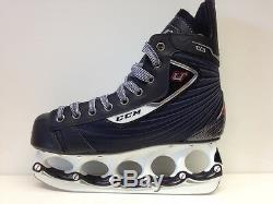 CCM U+ 03 t-blade Eishockey Schlittschuhe Senior Gr. 41 Ice Skate t blade