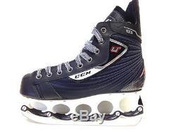 CCM U+ 03 t-blade Eishockey Schlittschuhe Senior Gr. 42 Ice Skate t blade