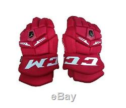 CCM Ultra Tacks Ice Hockey Gloves Senior
