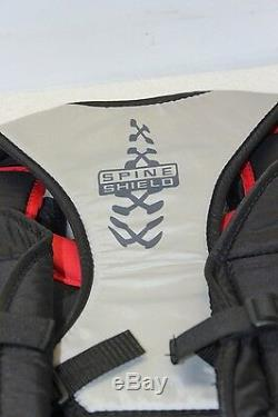 DR Sonic X3 Senior X9-Series Ice Hockey Goalie Chest & Arm Pads (Size S) NEW 2