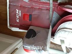 Goalie Leg Pads CCM Premier R1.9 34+1 Letevre Ice Hockey and Knee pads Senior