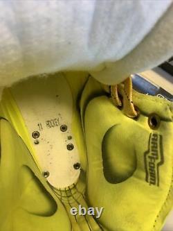 Graf G9035 Ice Hockey Skates SENIOR SR 11 D Regular NEW SWISS MADE With 296mm LS2
