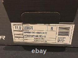 NEW Bauer Supreme One. 4 11R US Size 12.5 Model # 1039570 Ice Hockey Skates