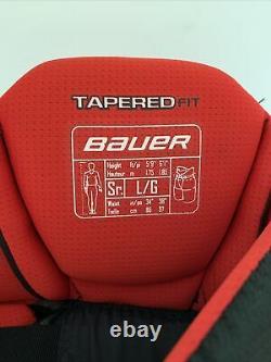 NEW Bauer Vapor Black APX 2 Senior LRG Ice Hockey Pants Inline Hockey