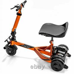 NEW iRIDE PRIDE 3-WHEEL LIGHT MOBILITY SCOOTER with Phone Holder
