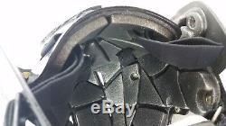 NO FEAR NF HA Senior Combo Ice Hockey Helmet With Cage Black / Grey A513