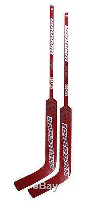 New 2 Pack of Warrior Abyss Sr ice hockey goalie sticks senior wood goal stick