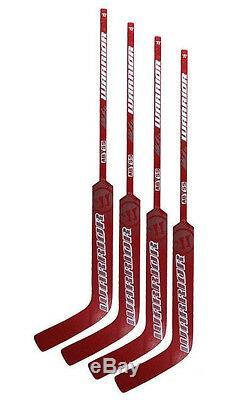 New 4 Pack of Warrior Abyss Sr ice hockey goalie sticks senior wood goal stick