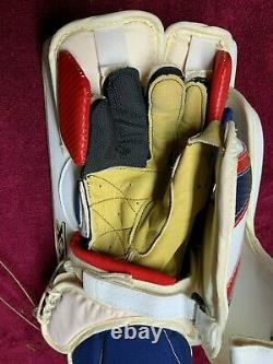 New BRIAN'S AMAX Pro Senior Ice Hockey Goalie Blocker Glove Regular Hand