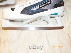 New Bauer Reactor 5000 Senior Ice hockey goalie skates
