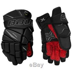 New Bauer Vapor X2.9 Ice Hockey Gloves Junior & Senior Sizes Black