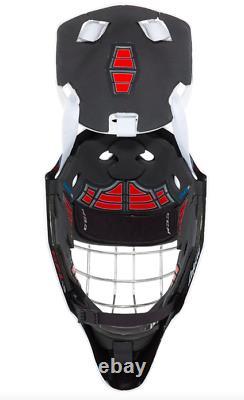 New CCM 1.9 Senior Ice Hockey Goalie Face Mask Medium White helmet straight bar