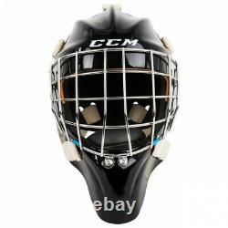 New CCM GFL Pro Senior Ice Hockey Goalie Face Mask Senior Medium Black helmet SR