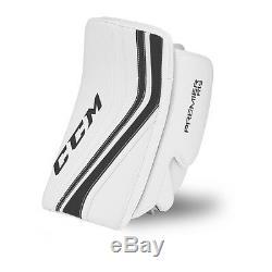 New CCM Premier R 1.9 senior ice hockey blocker glove catcher Sr. Black goalie