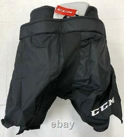 New CCM Pro Stock ice hockey goalie pant black HPG14A Fit 3 +2 senior XL 36 38