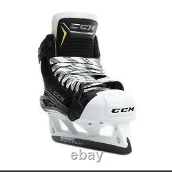New CCM Super Tacks AS1 Goalie Ice Hockey Skates size 8.5 D width skate SR