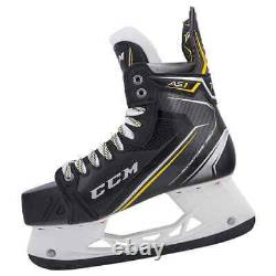 New CCM Super Tacks AS1 Ice Hockey Player Skates Senior 11 EE wide width skate