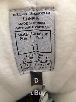 New CCM Tacks 9060 Senior Adult Ice Hockey Skates Size 11D (Shoe Size 12.5)