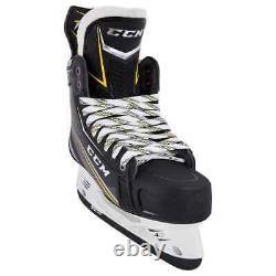 New CCM Tacks 9090 Ice Hockey Player Skates Senior 9.5 EE wide width skate SR