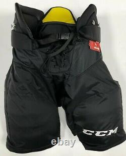 New CCM Tacks Pro Stock NHL Pants black size Large senior Sr ice hockey pads TK