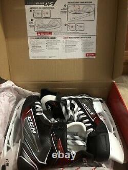New In Box CCM JetSpeed Senior FT460 Ice Hockey Skates Size 7D